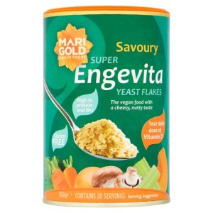 Marigold Super Engevita Yeast Flakes with Vitamin D & B12 100g