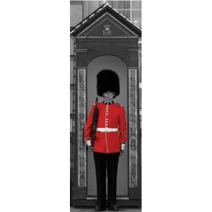 Buckingham Palace - Guard - London - Midi Poster - 30.5 cm x 91.5 cm