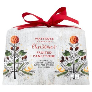 Waitrose Christmas Fruited Panettone 750g