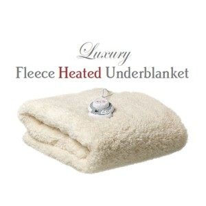Snug as a Bug Single Luxury Fleece Heated Underblanket
