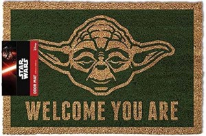 Licenced Star Wars Doormat - Yoda Size 40 x 60cm