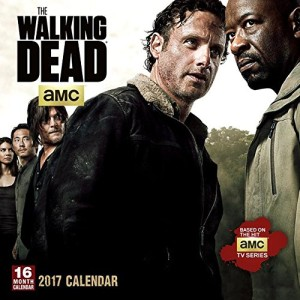 Official Walking Dead 2017 Square Wall Calendar 30 x 30 cm