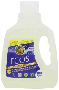 Ecos Magnolia and Lily 100% Natural Laundry Detergent & Softener 3 Litres