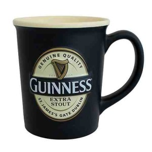 Guinness Large Label Embossed Mug 400ml