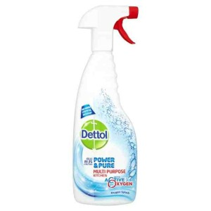 Dettol Power and Pure Multipurpose Kitchen Spray 750 ml