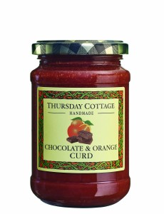 Thursday Cottage Handmade Chocolate & Orange Curd 310g