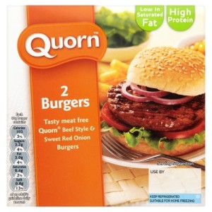 Quorn Beef Style & Red Onion Burger 150g