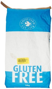 Doves Farm Gluten Free Plain White Flour 16Kg
