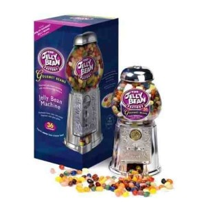 The Jelly Bean Factory 600g Jelly Beans with free Dispensing Machine