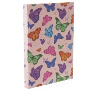 Chouko Butterfly Design Hardback Notebook A6