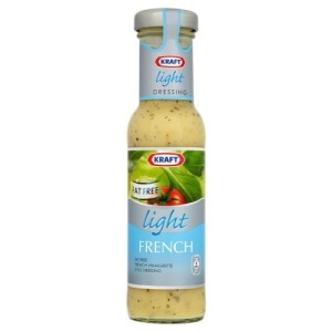 Kraft Get Dressed Reduced Fat French Dressing 250ml