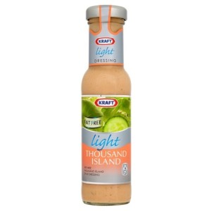 Kraft Thousand Island Light Dressing 235ml
