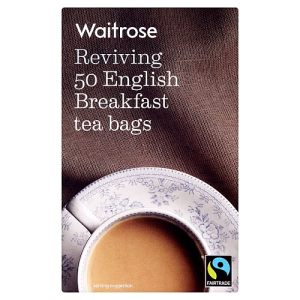 Waitrose Reviving 50 English Breakfast Tea Bags