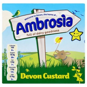 Ambrosia Ready to Serve Custard 500g