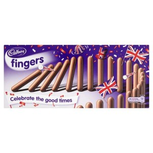 Cadbury Milk Chocolate Fingers 110g