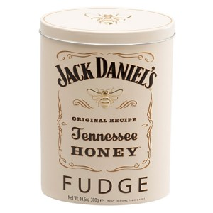 Gardiners Jack Daniel's Tennessee Honey Liqueur Fudge Tin 300g