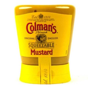 Colman's English Mustard Squeezable 150g