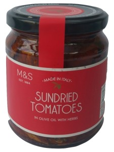 Marks & Spencer Sundried Tomatoes in Olive Oil with Herbs 280g