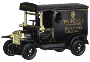 Twinings Exclusive Diecast Collectable Delivery Van