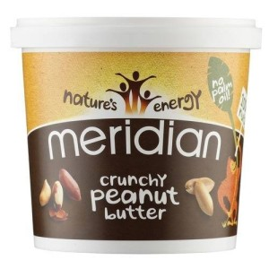 Meridian Crunchy Peanut Butter With No Added Salt & Sugar 1 Kg