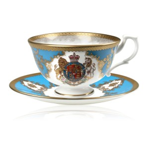Buckingham Palace Coat of Arms Teacup and Saucer 175ml