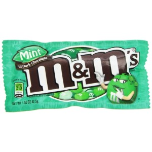 American Dark Chocolate Mint m&m's 42.5 g