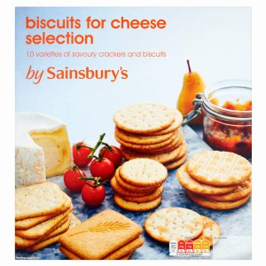 Sainsbury's Biscuits For Cheese Selection 500g