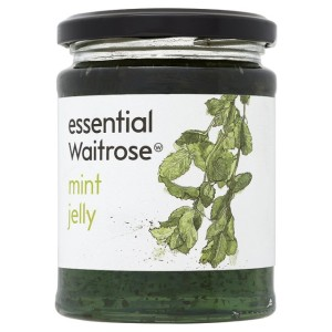 Waitrose Mint Jelly Essential 340g