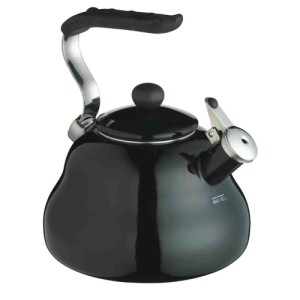 Kitchen Craft Le'Xpress Whistling Kettle, Black, 2L