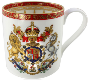 Buckingham Palace Coronation Commemorative Mug 350ml