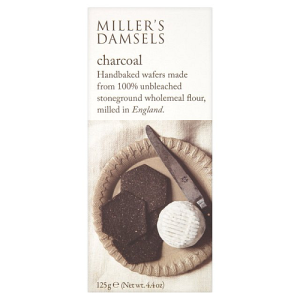 Miller's Damsel Charcoal Handbaked Wafers 125g