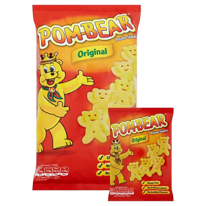 Pom-Bear Original Potato Snack 6 x 19g