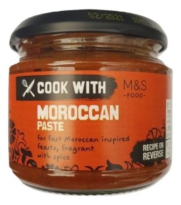 Marks & Spencer Moroccan Cooking Paste 200g