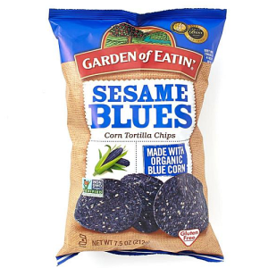 Sesame Blues Organic Blue Corn Tortilla Chips 212g