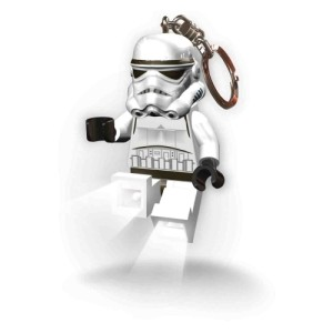 Lego Lights Stormtrooper Keyring with LED Light