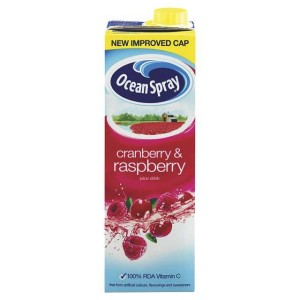 Ocean Spray Cranberry & Raspberry Juice Drink 1Litre