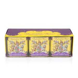 Buckingham Palace Loose Leaf Tea Caddies Collection 3 x 25g