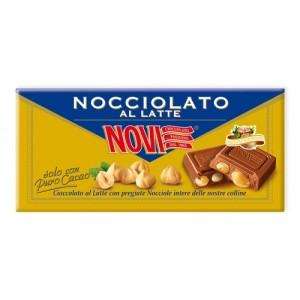 Nocciolato Extra Fine Milk Chocolate with Whole Hazelnuts 130g