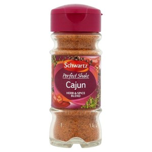 Schwartz Perfect Shake Cajun Seasoning Jar 44g