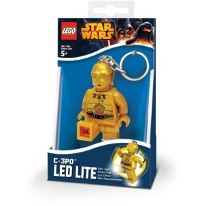 Lego Lights C-3PO Keyring with LED Light