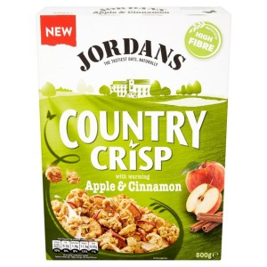 Jordans Country Crisp Apple & Cinnamon 500g