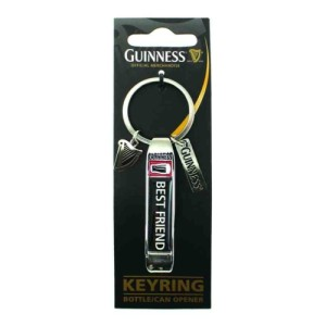 Guinness Best Friend Keyring