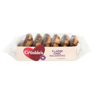 Mrs Crimble's 6 Large Chocolate Macaroons 250g