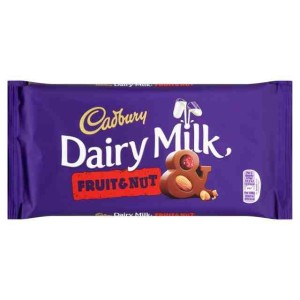 Cadbury Dairy Milk Fruit & Nut Bar 200g