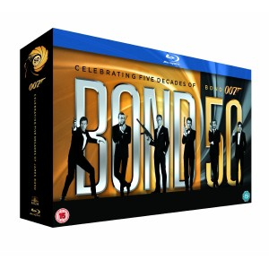 BOND 50 - James Bond - 22 Film Collection [Blu-ray]