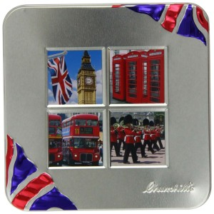 Churchill's London Windows with Belgian Chocolate Biscuits 200g