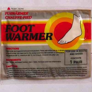 Mycoal Foot Warmers - 1 pair