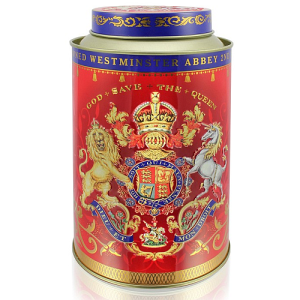 Buckingham Palace Coronation Tea Caddy - 50 Ceylon Tea Bags