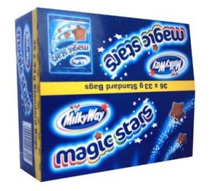 Mars Milky Way Magic Stars 36 x 33g
