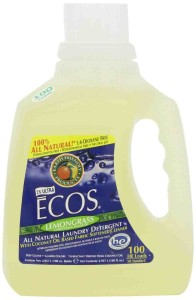 Ecos Lemongrass 100% Natural Laundry Detergent & Softener 2.96 Litres